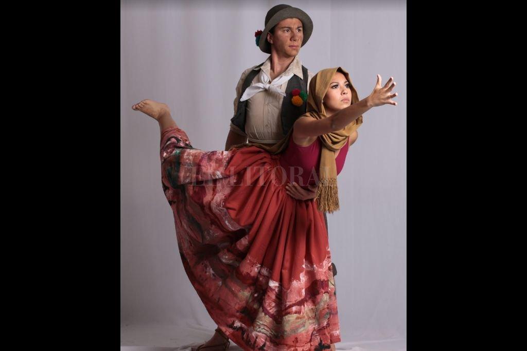 Fragor es una compañía de danza independiente recientemente conformada en la ciudad de Santa Fe, dirigida por Joan Iramain y Brenda Jerichau. Crédito: Gentileza producción / Natalia Pauloni