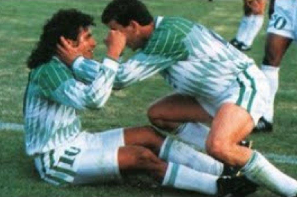 Los goles fueron de Erwin Sánchez (3), William Ramallo (3) y Luis Héctor Cristaldo. Crédito: Gentileza