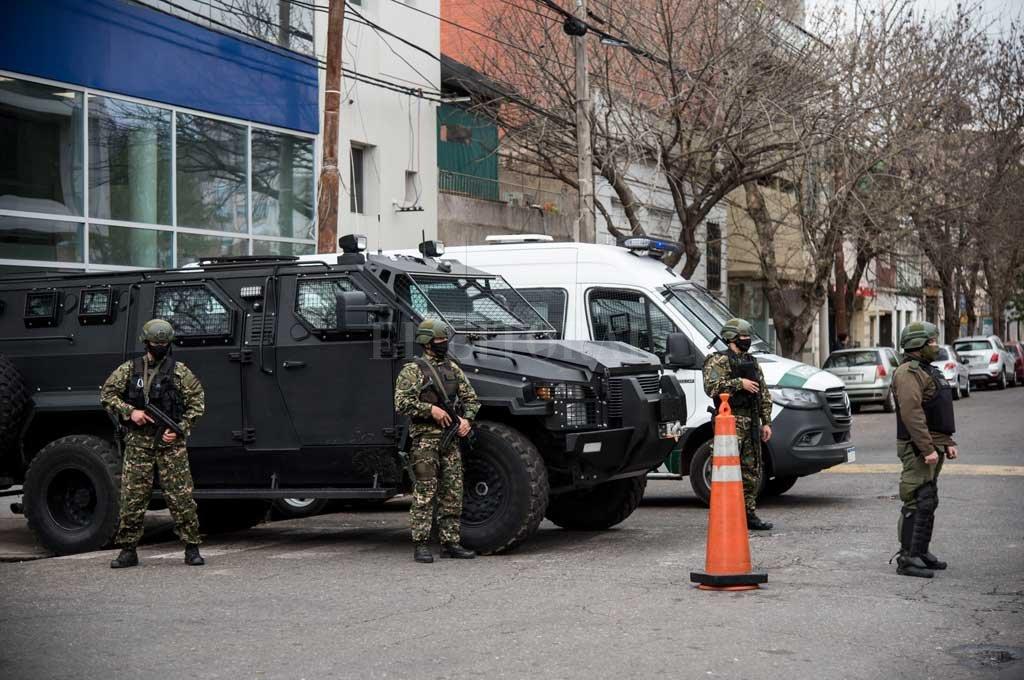 160 efectivos de fuerzas federales desembarcaron en las últimas horas en Rosario. Crédito: Marcelo Manera
