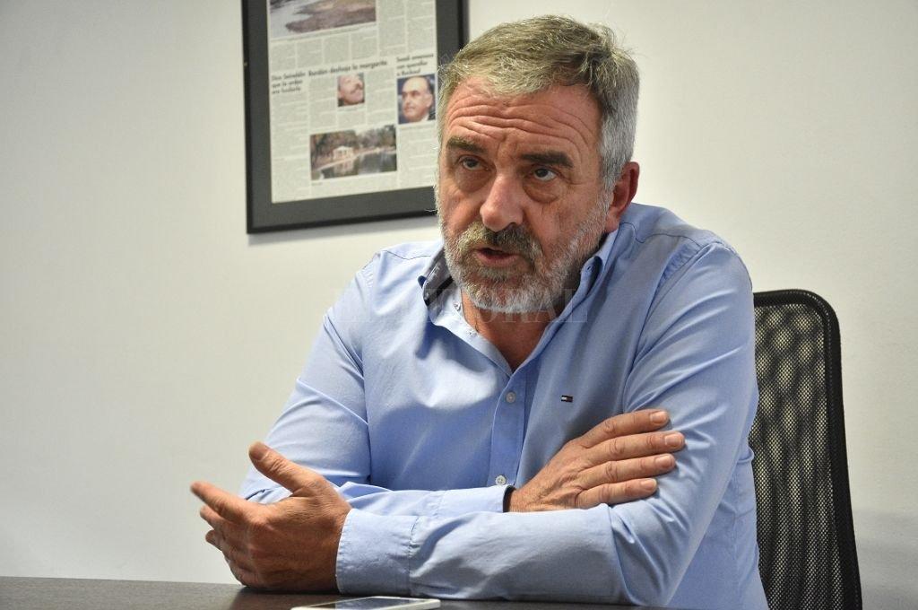 Alejandro Rossi, precandidato a concejal del Frente de Todos. Crédito: Pablo Aguirre