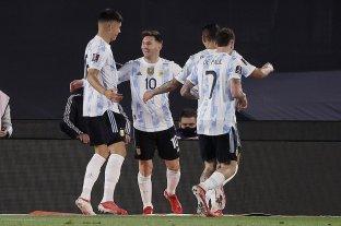 Con Messi como figura, Argentina goleó a Bolivia
