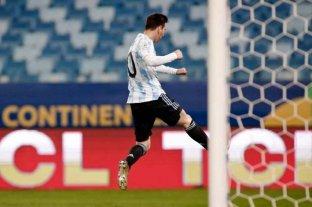 Con triplete, Messi superó el récord de Pelé y se convirtió en el máximo goleador en una Selección sudamericana