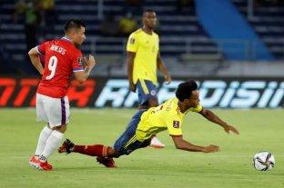 Colombia derrotó a Chile por 3 a 1 en Barranquilla