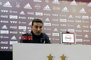 """Scaloni, tras la victoria: """"Messi siempre fue un jugador que marcó la diferencia"""""""