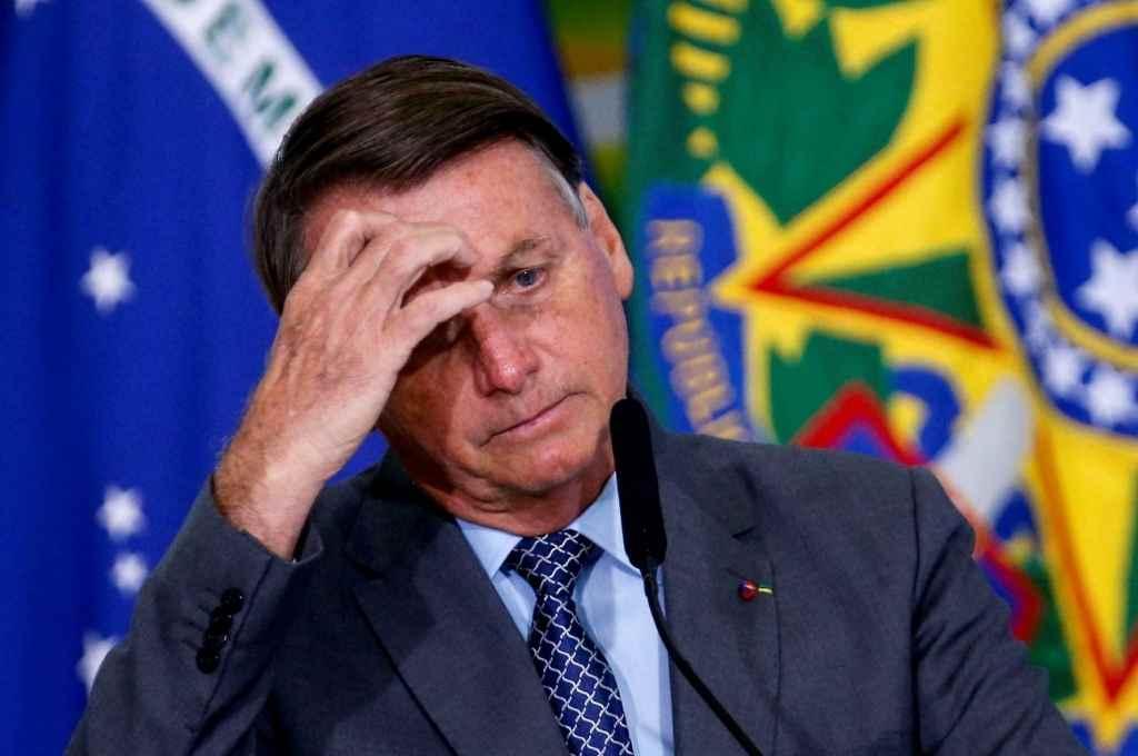 En su peor momento. Jair Bolsonaro, presidente de Brasil.   Crédito: Gentileza