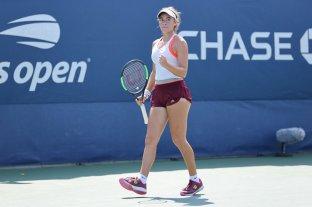 La argentina Solana Sierra ganó y avanzó a la semifinal Junior del US Open