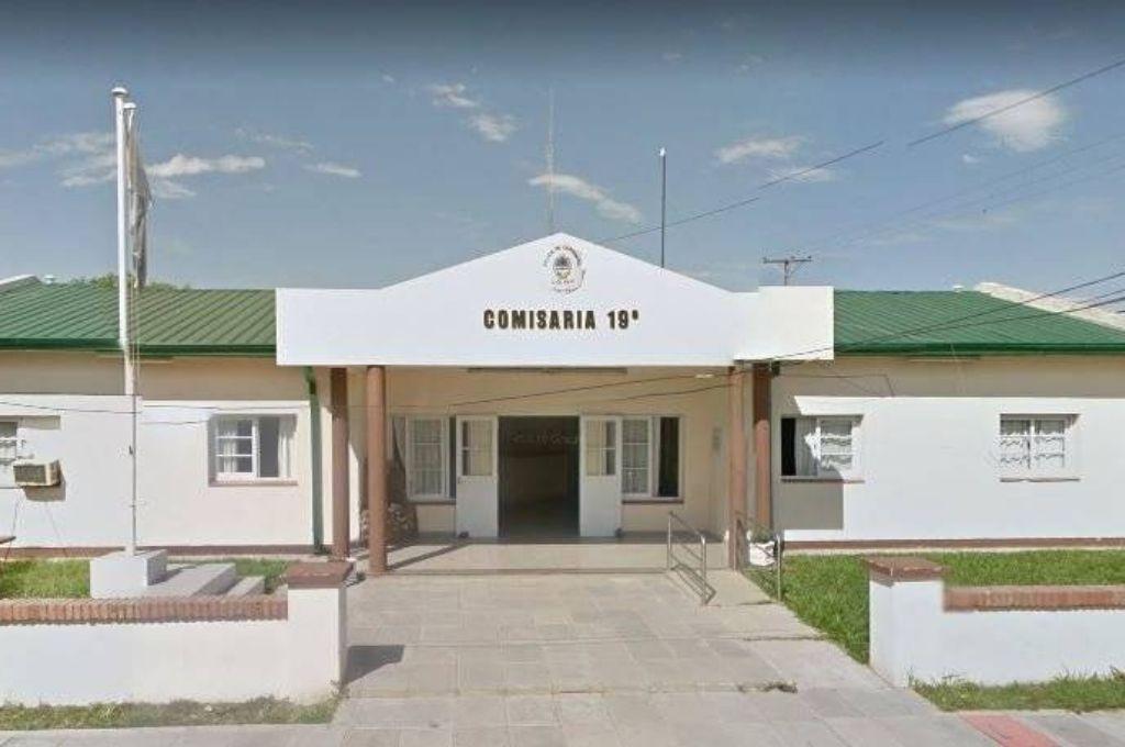 Comisaría 19° de la ciudad de Corrientes Crédito: Gentileza