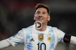 Video: hasta los brasileros se emocionaron con el primer gol de Messi