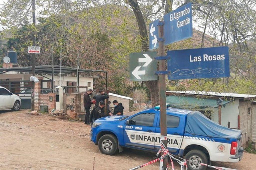 Sitio donde ocurrió el asesinato. Crédito: Gentileza
