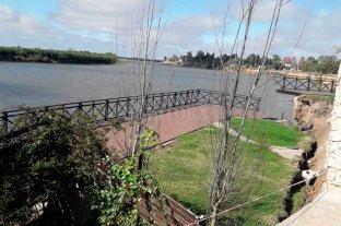 """Preocupación en Sauce Viejo por nuevos desmoronamientos: """"Está en el aire"""""""