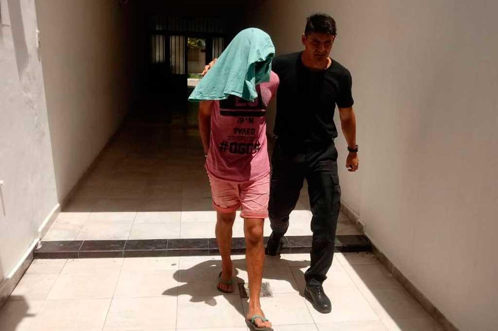 Lucas Gastón Insaurralde (25), resultó condenado a 14 años de prisión, como autor del homicidio de Víctor De La Cuesta (27). Crédito: Gentileza Reconquista Hoy