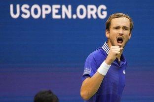 Medvedev le ganó a Auger-Aliassime y es finalista del US Open