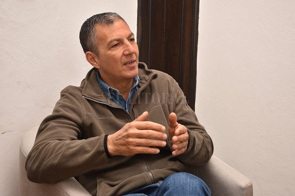 Juan Manuel Pusineri, ministro de Trabajo. Crédito: Archivo El Litoral