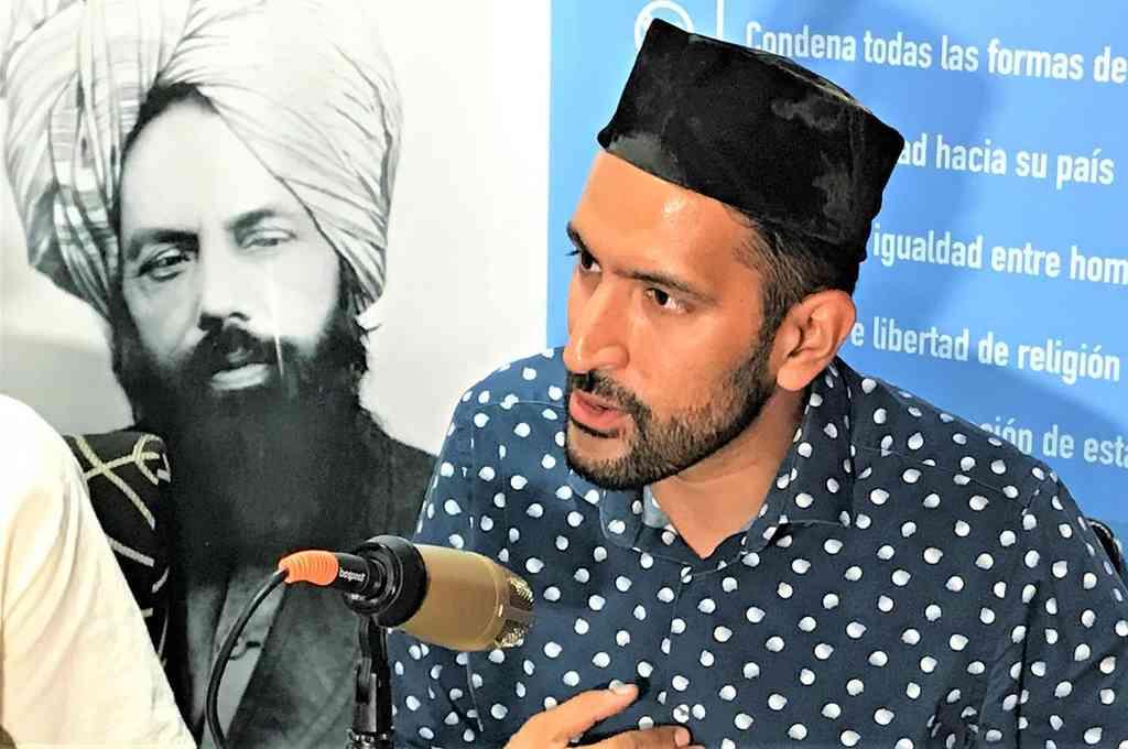 Marwan Sarwar Gill es Imam (teólogo islámico) y presidente de la comunidad musulmana Ahmadía en Argentina. Crédito: Imagen ilustrativa