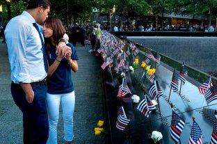 Con un minuto de silencio y el recuerdo de las víctimas, Nueva York conmemora los 20 años del 11-S