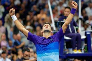 Djokovic es finalista del US Open e irá por el título ante Medvedev
