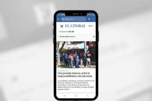 Descargá la app de El Litoral y bajá las noticias más rápido