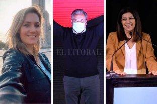 Losada, Lewandowski y García buscarán   las bancas para el Senado nacional