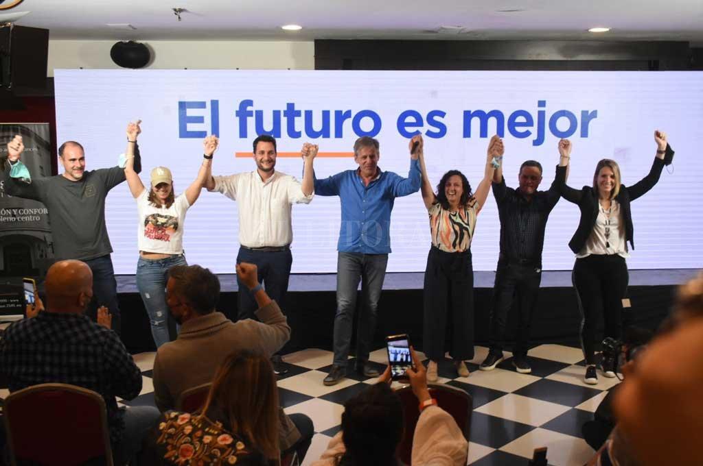 Con el apoyo del intendente Emilio Jatón, la lista