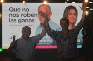 """Barletta expresó su satisfacción y el desafío de """"pelear contra el gobierno"""""""