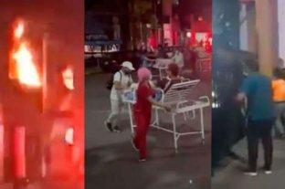 Video: incendio en el Hospital Departamental de Villavicencio en Colombia