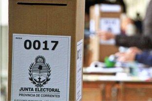 Corrientes: cuatro listas competirán el 14 de noviembre