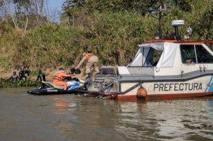 Hallan en Corrientes el cuerpo de uno de los pescadores buscados en el río Paraná
