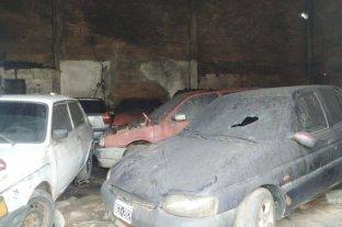 Más de 10 autos incendiados en un taller mecánico de Corrientes