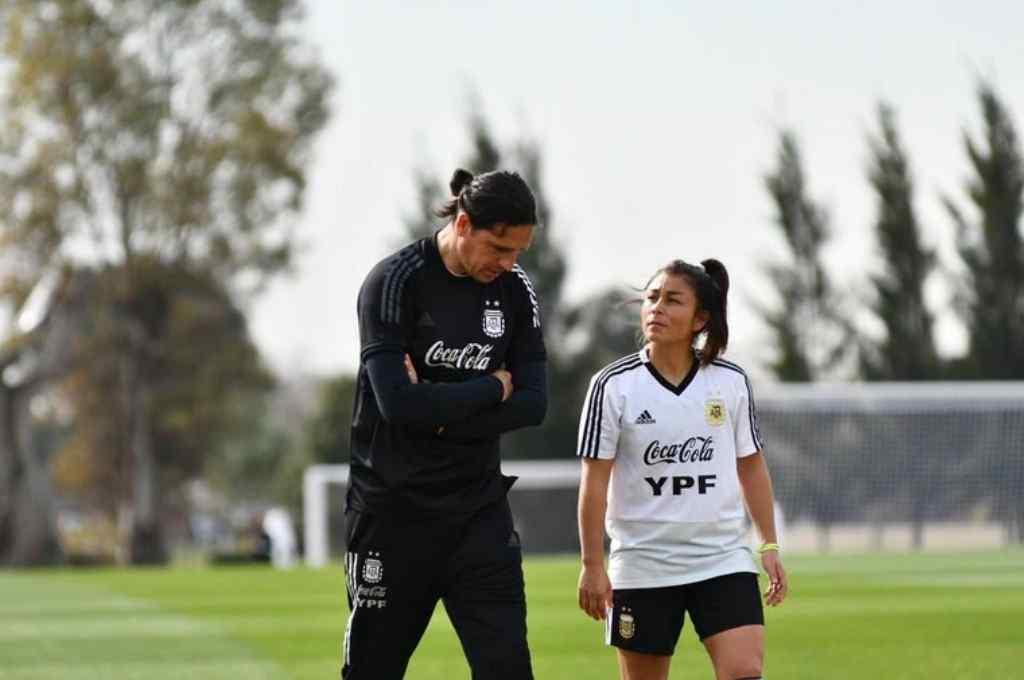 Germán Portanova, el nuevo entrenador de la selección femenina que hará su debut en un clásico de América Crédito: Gentileza @Argentina