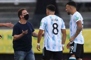 La AFA hizo su descargo ante la FIFA tras la suspensión del partido con Brasil