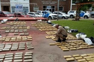 Secuestraron más de media tonelada de marihuana en Corrientes