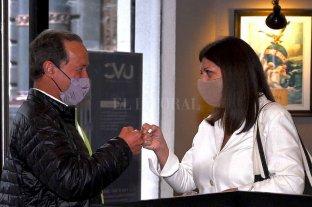 Clara García y Rubén Giustiniani ya trabajan juntos con miras a las elecciones de noviembre