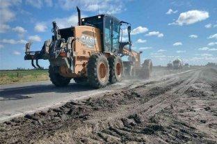 Comenzaron las obras de repavimentación de la Ruta N°13
