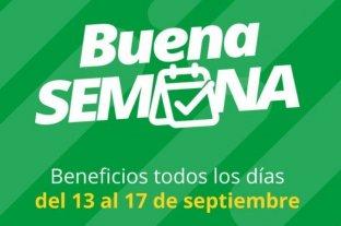 """Banco Santa Fe trae una """"Buena Semana"""" cargada de descuentos y beneficios"""