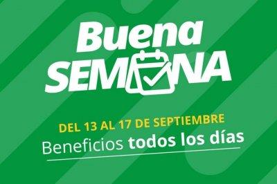 """Banco Santa Fe trae """"Buena Semana"""", cargada de descuentos y beneficios"""