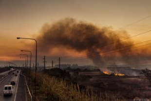 Cinco provincias registraban este martes focos activos de incendios forestales