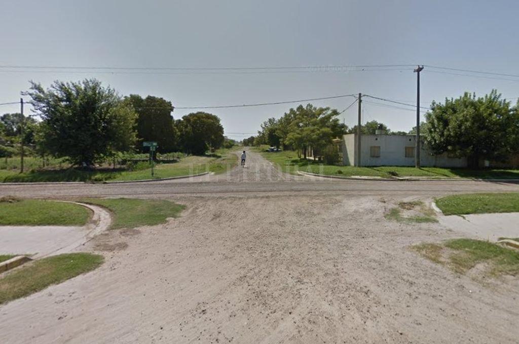 La zona donde ocurrió el suceso. Crédito: Google Maps