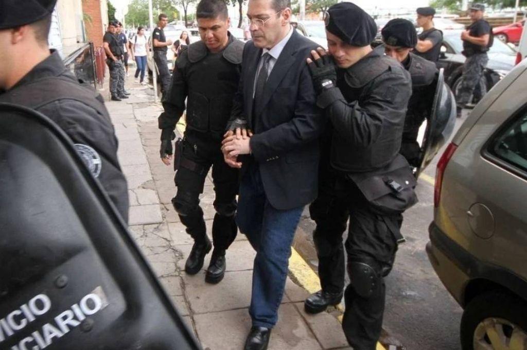 Adrián Sosa García al momento del juicio en 2015. Crédito: Gentileza