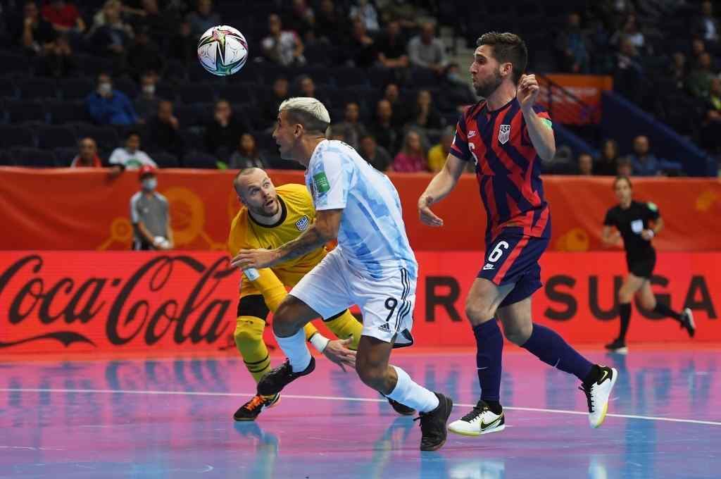 Cristian Borruto se convirtió en el máximo goleador argentino en Copas Mundiales. Crédito: Gentileza Getty