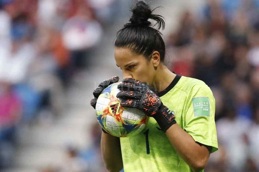 Vanina Correa, arquera y referente de la Selección Argentina de Germán Portanova Crédito: Gentileza