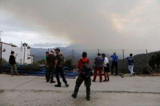 La lluvia ayudó a controlar los incendio en España
