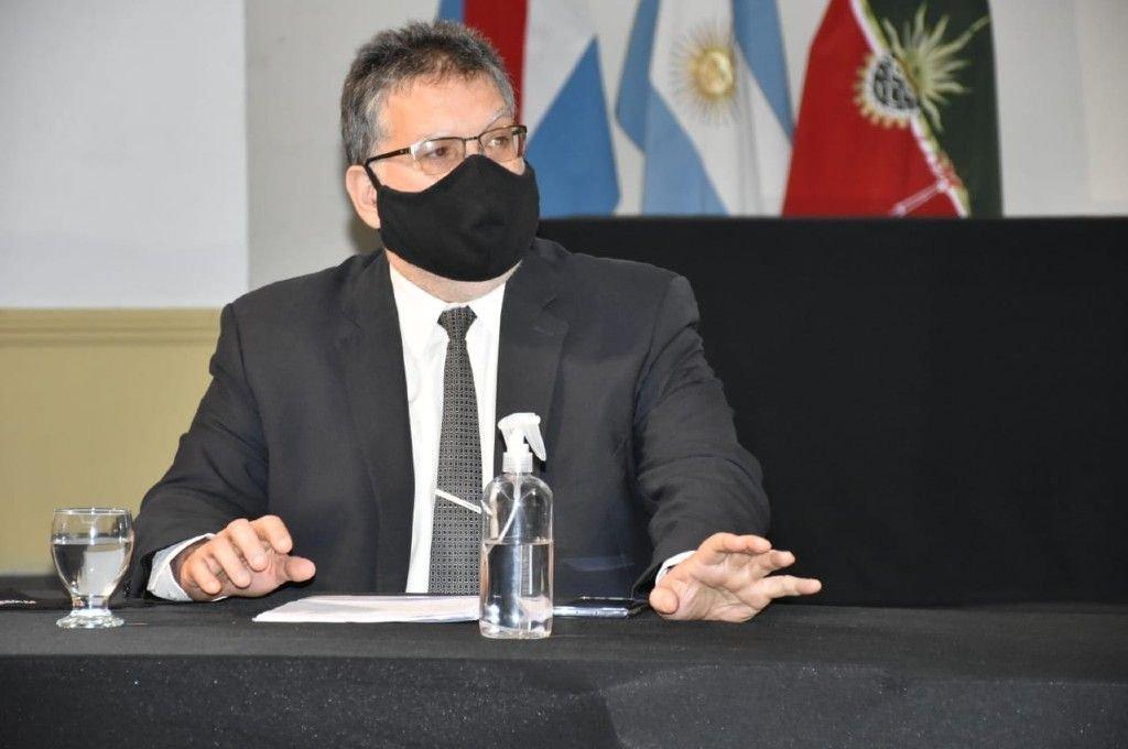 Alfredo Francolini, intendente de Concordia.