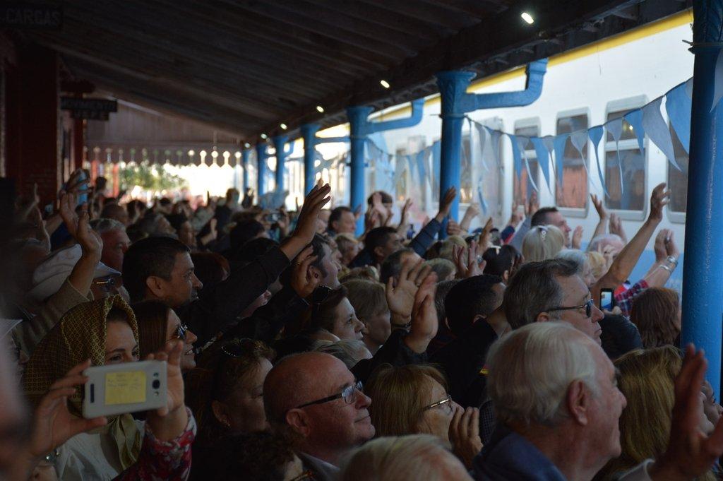 El tren de pasajeros y la alegría en las estaciones, postales que podrían volver a verse en Rosario, Cañada de Gómez y localidades aledañas. Foto:Archivo