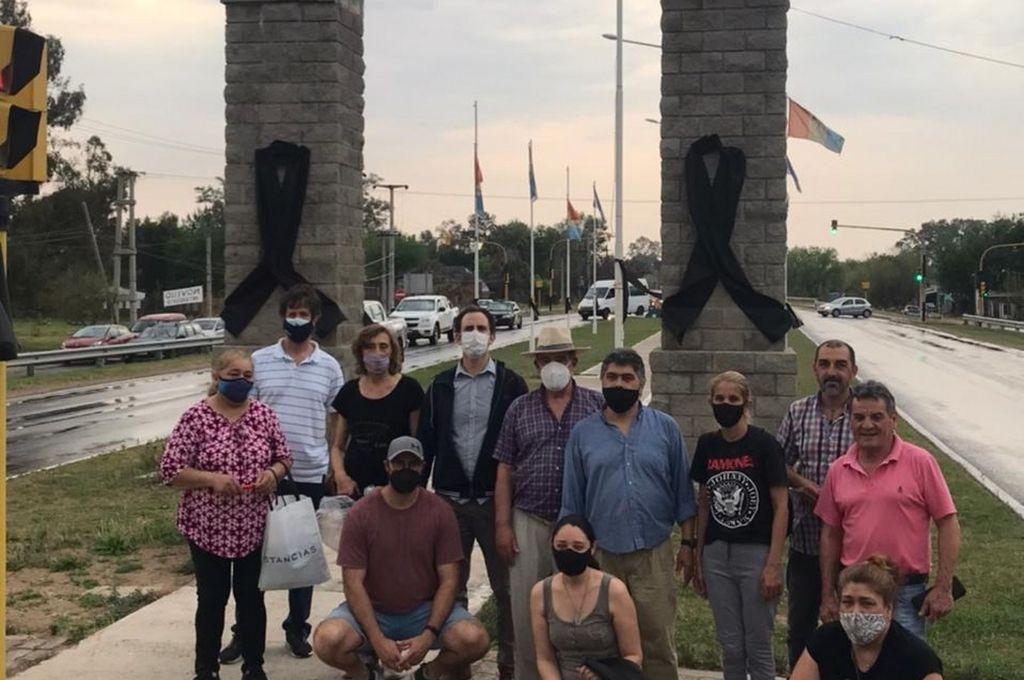 La Unión de Vecinales de San José del Rincón se sumó al reclamo de