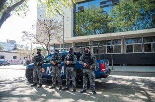 Refuerzan la seguridad del centro judicial de Rosario tras amenazas a los fiscales