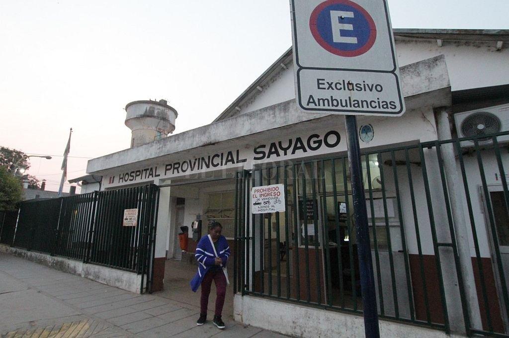 Hospital Sayago. Crédito: Archivo El Litoral