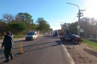 Motociclistas heridos  tras un choque en la Ruta 1