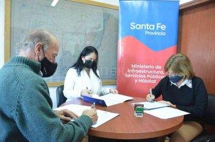 Firman acuerdo por 10 viviendas en Villa Guillermina