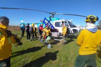 Se instalaron nuevos operativos para combatir incendios en las islas del Paraná
