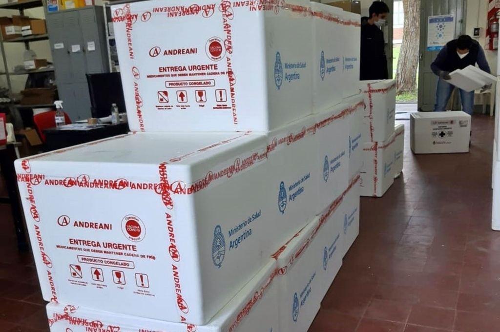 Llegaron 59.900 vacunas a Entre Ríos y se sumaron dos nuevas marcas al Plan Rector -  -